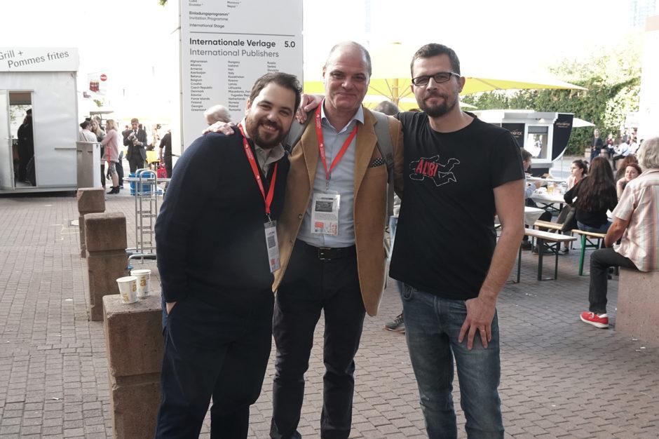 Vassilis Danellis, Yannis Ragos in Renato Bratkovič